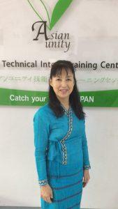 エイジアンユニティ 技能実習生トレーニングセンター 校長 寺本由美子